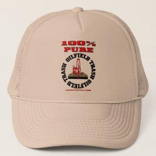 pretty nice 3ec1a 56965 100% Pure Oil Field Trash,Oil Field Cap,Oil Rig Trucker Hat