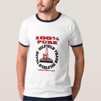 100% Pure Oilfield Trash,Drilling Rig T-Shirt,Oil, Tshirts