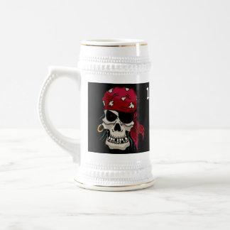 100% Pure Pirate Grog Beer Stein
