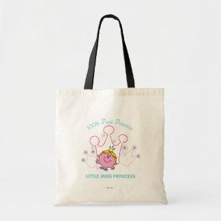100% Pure Princess - Little Miss Princess Budget Tote Bag