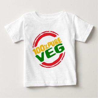 100% Pure Veg Baby T-Shirt
