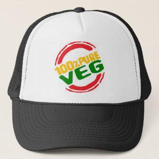 100% Pure Veg Trucker Hat