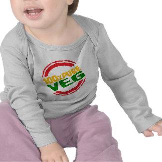 100 Pure Veg Tshirts