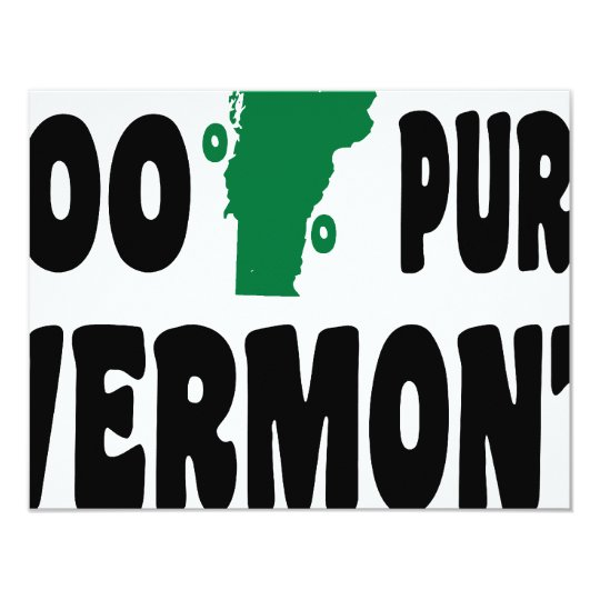 100% Pure Vermont Card