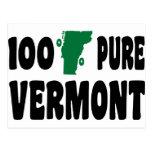 100% Pure Vermont Postcard