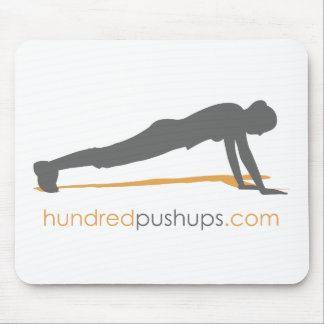 100 Push-Ups Mouse Pads