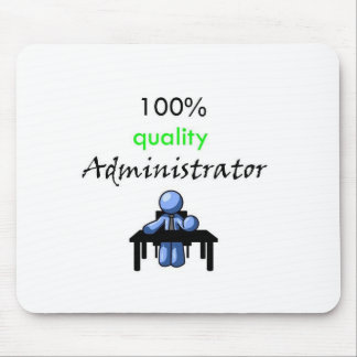 100% quality administrator mouse pad