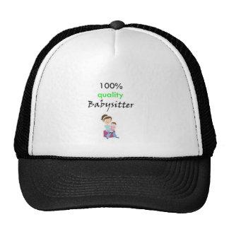 100% quality babysitter trucker hat