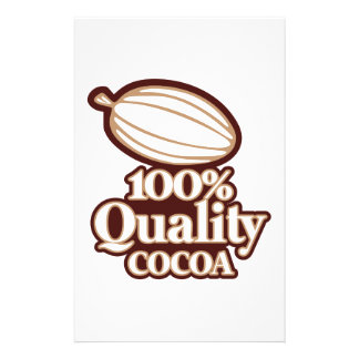 100% Quality Cocoa Stationery
