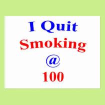 100  Quit Smoking Postcard