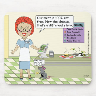 100 Rat Free Meat Mouse Mats