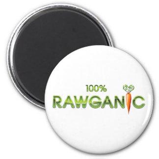 100% Rawganic Raw Food - Carrot Fridge Magnet