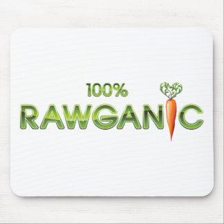 100% Rawganic Raw Food - Carrot Mouse Pad