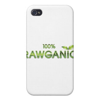 100% Rawganic Raw Food Case For iPhone 4