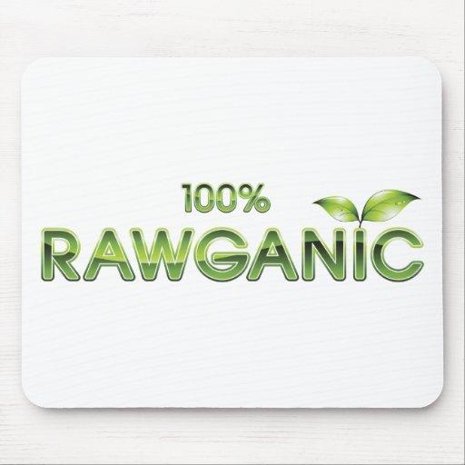 100% Rawganic Raw Food Mousepad