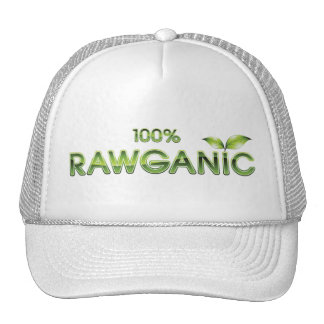 100% Rawganic Raw Food Trucker Hat