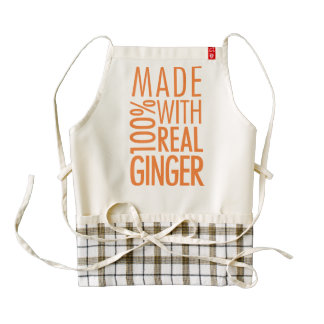 100% Real Ginger Apron
