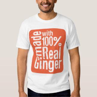 100% Real Ginger Tshirts