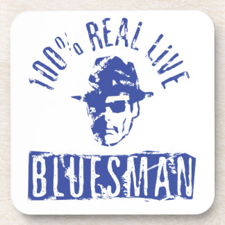 100% Real Live Bluesman Coasters