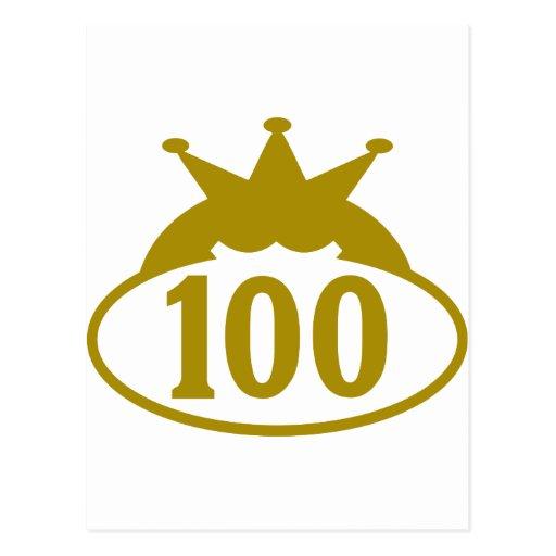100 real-oval.png tarjetas postales