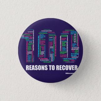100 Reasons Button Pin Small