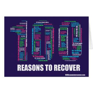 100 Reasons Notecard
