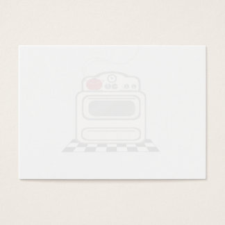 100 Recipe Cards - Sheer Retro Red Kitchen No Text