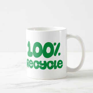 100% Recycle Products & Designs! Coffee Mug