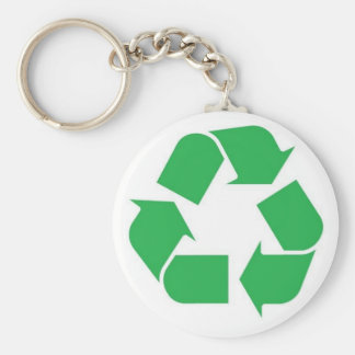 100% Recycled Paper Keychain