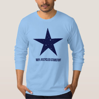 100% Recycled Starstuff-Blue T-Shirt