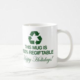 100% Regiftable Mug