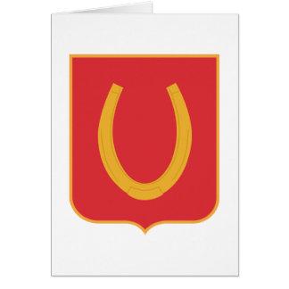 100 Regiment Greeting Card