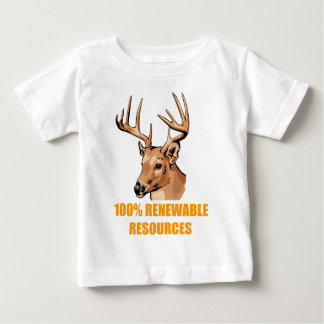 100% Renewable Resources Baby T-Shirt