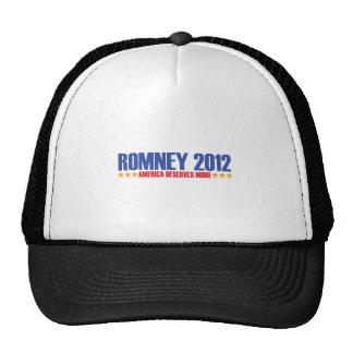 100.ROMNEY-2012 TRUCKER HAT