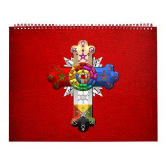 [100] Rosy Cross (Rose Croix) Calendar