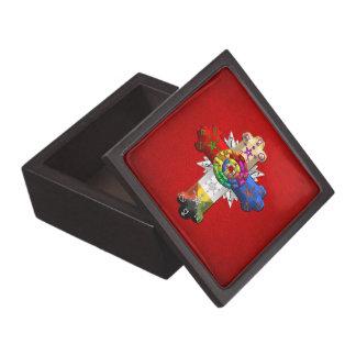 [100] Rosy Cross (Rose Croix) Jewelry Box