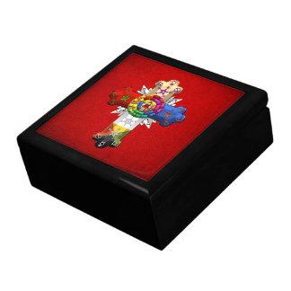 [100] Rosy Cross (Rose Croix) Keepsake Box