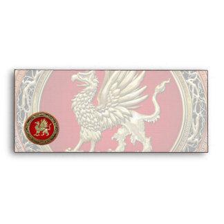 [100] Sacred Gold Griffin Envelopes