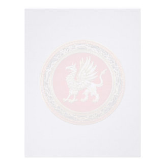 100 Sacred Gold Griffin Personalized Letterhead