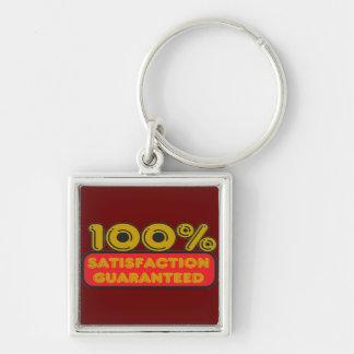 100% Satisfaction Guaranteed Keychain