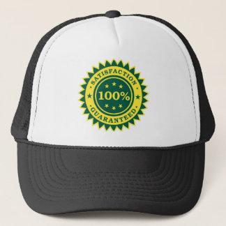 100% Satisfaction Guaranteed Sticker Trucker Hat
