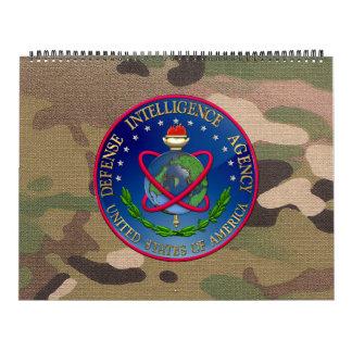 [100] Sello (DIA) de la Agencia de Inteligencia Calendarios De Pared