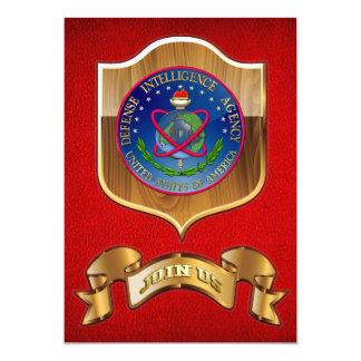 """[100] Sello (DIA) de la Agencia de Inteligencia Invitación 5"""" X 7"""""""