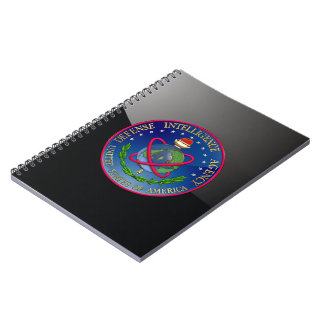 [100] Sello (DIA) de la Agencia de Inteligencia pa Libros De Apuntes