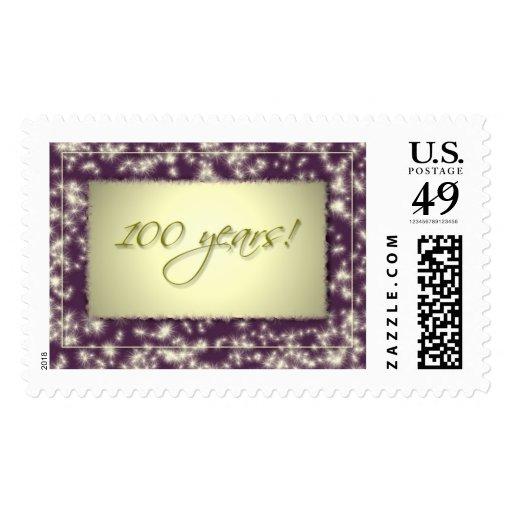 ¡100 sellos de la celebración del cumpleaños del