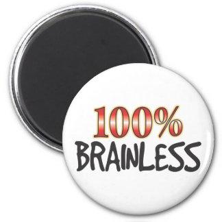 100% sin seso imanes de nevera