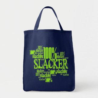 100% Slacker - Grocery Tote
