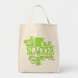 100% Slacker - Organic Grocery Tote