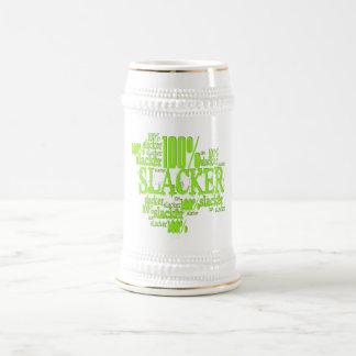 100% Slacker - Stein Mugs