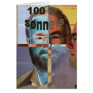 100 Sonnets Card